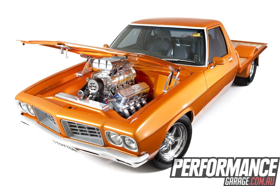 SHOW KING: CUSTOM HR UTE | Performance Garage – V8, HI-TECH, MUSCLE ...