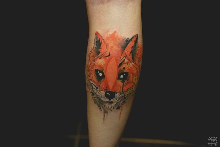 Dessin Tatouage A L Aquarelle Idees Cool Par Les Tatoues
