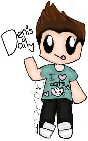 Denisdaily Fanart So Cute Fan Art Dennis Daily Disney Fan Art