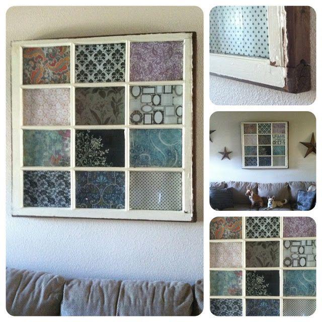 Reciclar viejas ventanas reciclar portes i finestres for Reciclar estanterias viejas