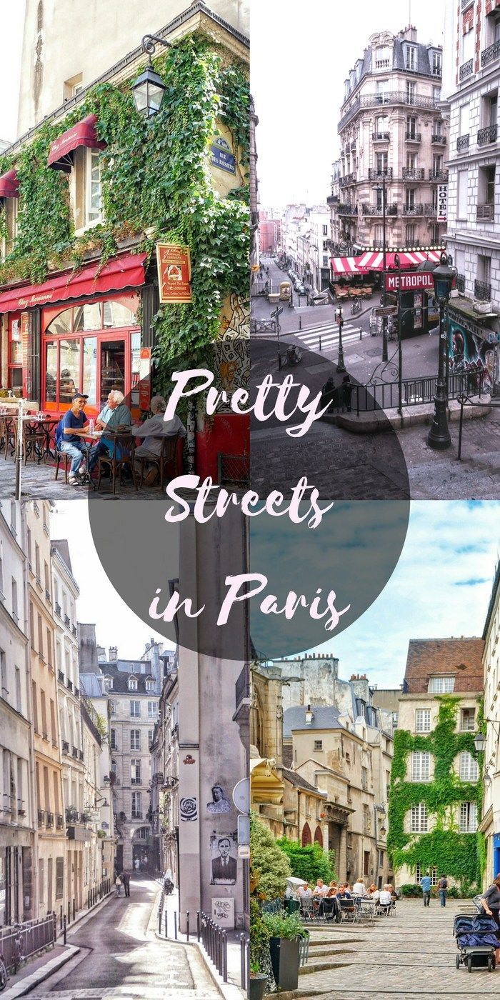 A guide to finding pretty Paris Streets in Paris, France  URL : http://amzn.to/2nuvkL8 Discount Code : DNZ5275C