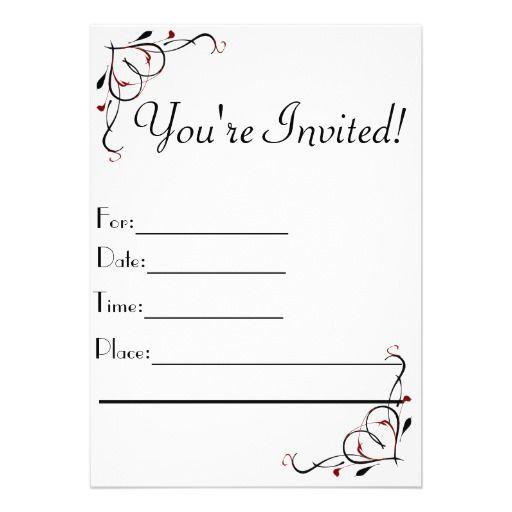 You Re Invited Invitations Invitation Templates Word Invitations Printable Invitation Templates