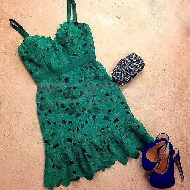 Aliexpress.com: Compre 2015 novas mulheres moda verão roupas das mulheres vestidos casuais verde vestido de renda plus size estilo verão vestidos de festa vestidos de confiança Vestidos fornecedores em best 4 best