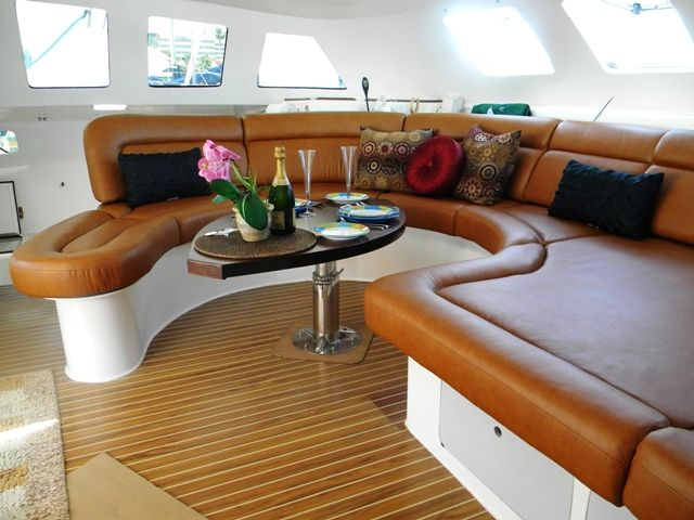 Banquette Design House Boat Interior 39 S For Stephen Pinterest Banquettes Boat Interior And