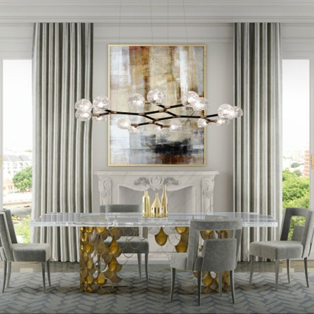 Royal dining room trends for you! Get relaxed in among the finest