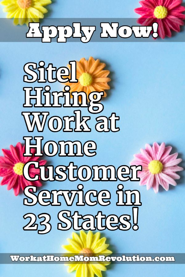 Home Based Customer Service Jobs With Sitel Hiring In 23 States