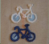 Bike Cap with Bicycle Applique pattern by Cathy Ren