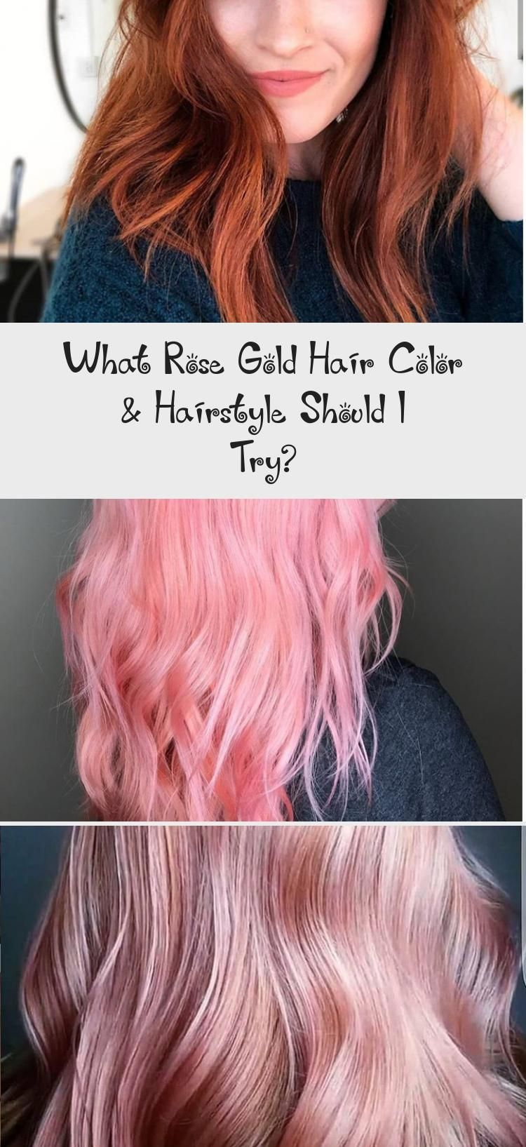 What Rose Gold Hair Color & Hairstyle Should I Try?