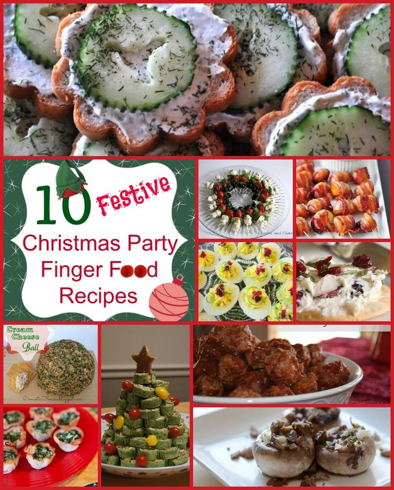 ideas for finger foods for christmas parties