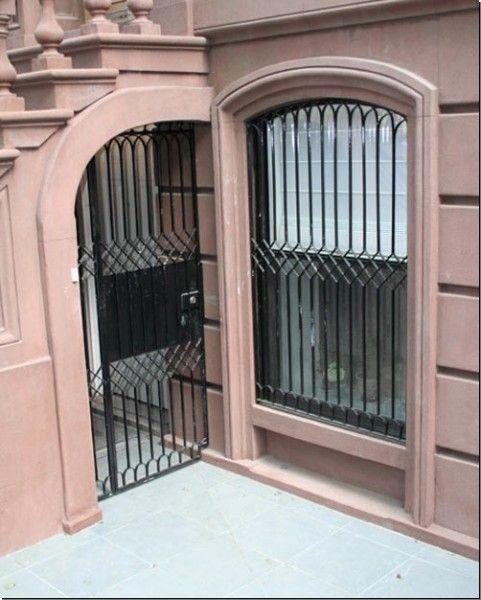Window and door security bars
