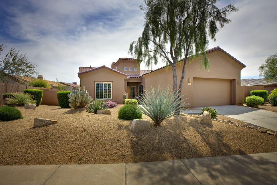 low maintenance desert landscaping ideas | Cheap ... on Backyard Desert Landscaping Ideas On A Budget id=53099