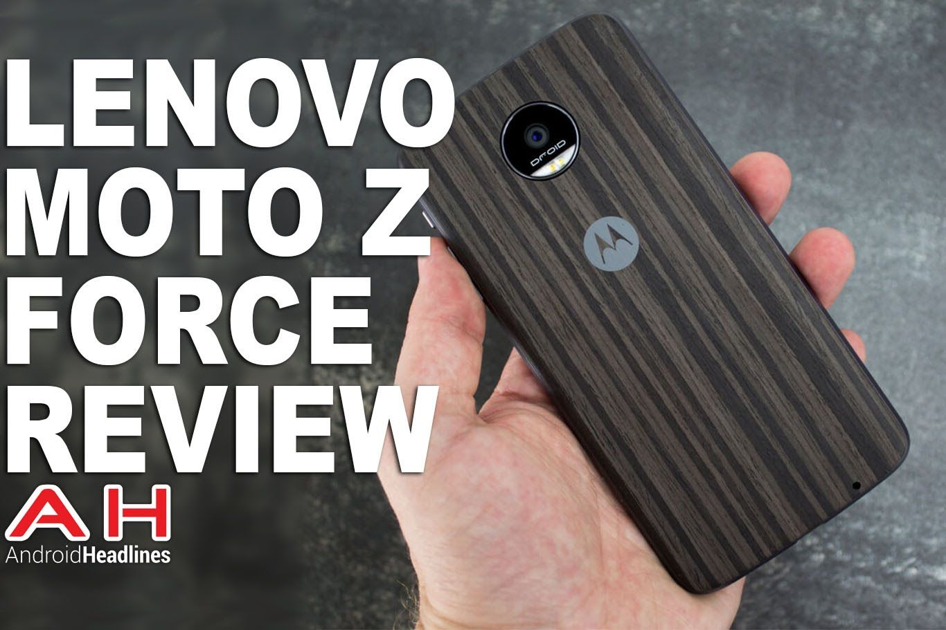 Lenovo Moto Z Force Droid Edition Review Moto Z Lenovo Operations Management