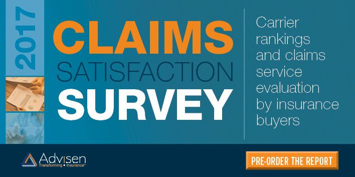 Advisenu0027s 2017 Claims Satisfaction Survey Report is expected to be - satisfaction survey