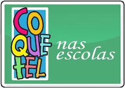 O programa COQUETEL nas Escolas consiste no envio de revistas COQUETEL para as escolas públicas e particulares de todo o Brasil, cabendo às instituições apenas o custo de postagem.