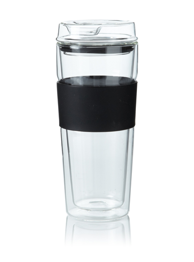 thermos double wall glass - Glass Thermos