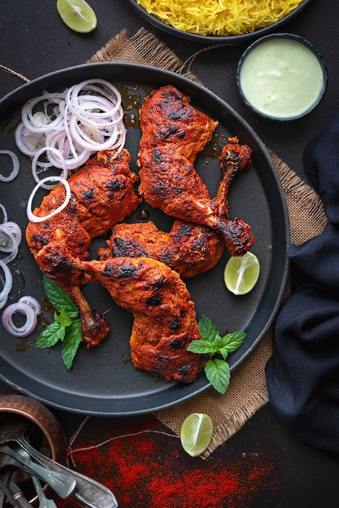 Tandoori Chicken #tandoorichicken