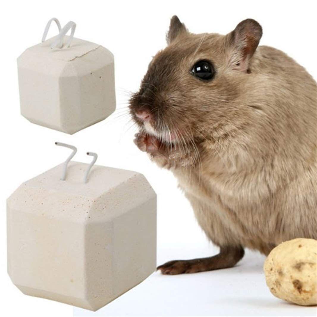 Guoshang Hamster Rat Chinchilla Rabbit Mineral Stone Calcium Chew
