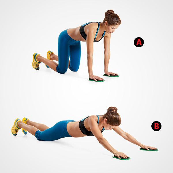 slide out fitness Pinterest Exercises, Workout and Muscles