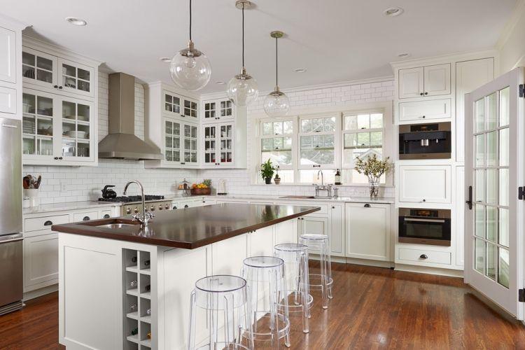 #Küche Holz Arbeitsplatten Machen Die Moderne Küche Gemütlich #Holz  #Arbeitsplatten #machen #
