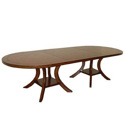 Veranda Oval Double Pedestal Dining Table Dining Table Double Pedestal Dining Table Pedestal Dining Table