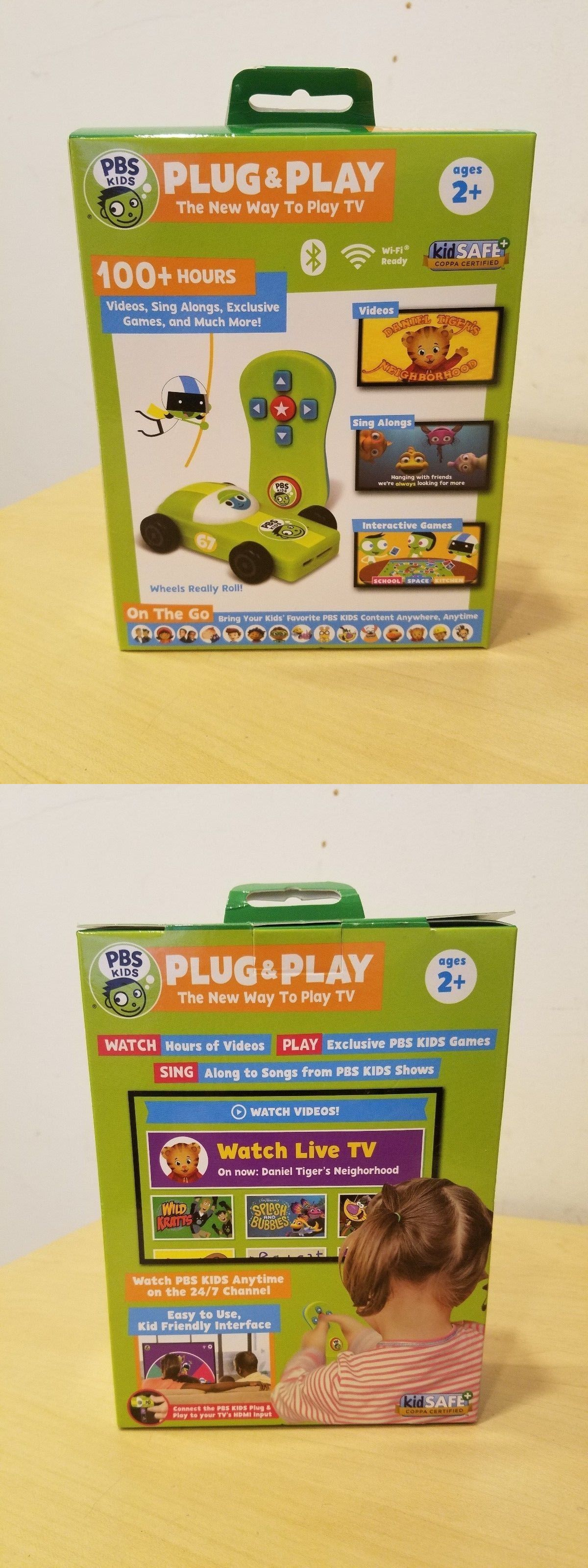 Electronic Learning Toys 177915 Pbs Kids Plug And Play