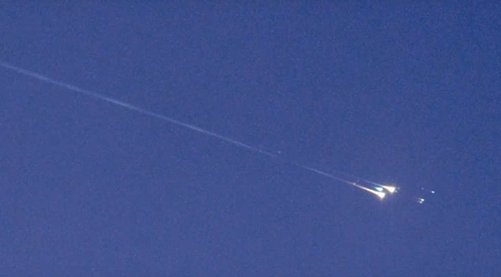 Just after 1:18 AM EST (6:18 AM UTC) on Friday, Nov. 13 an object tagged as WT1190F reentered Earth's atmosphere as predicted above the Indian Ocean, just off the southern tip of Sri Lanka. The object - most likely man-made space debris from some previous lunar or interplanetary mission – burned up on reentry and was not a threat to anyone on Earth due to its low density and small size (3-6 feet or 1-2 meters).