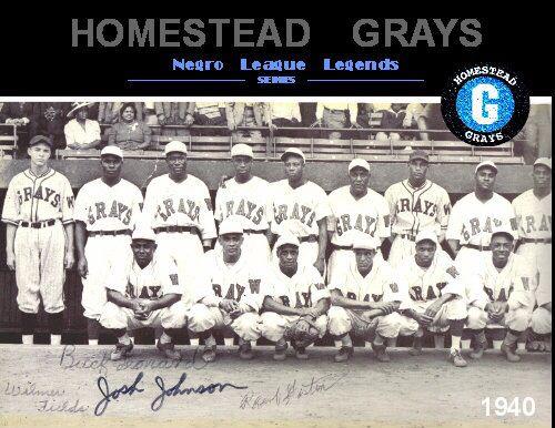 8e45c677be2 1940 Negro League Champions | Homestead Grays | Negro league ...