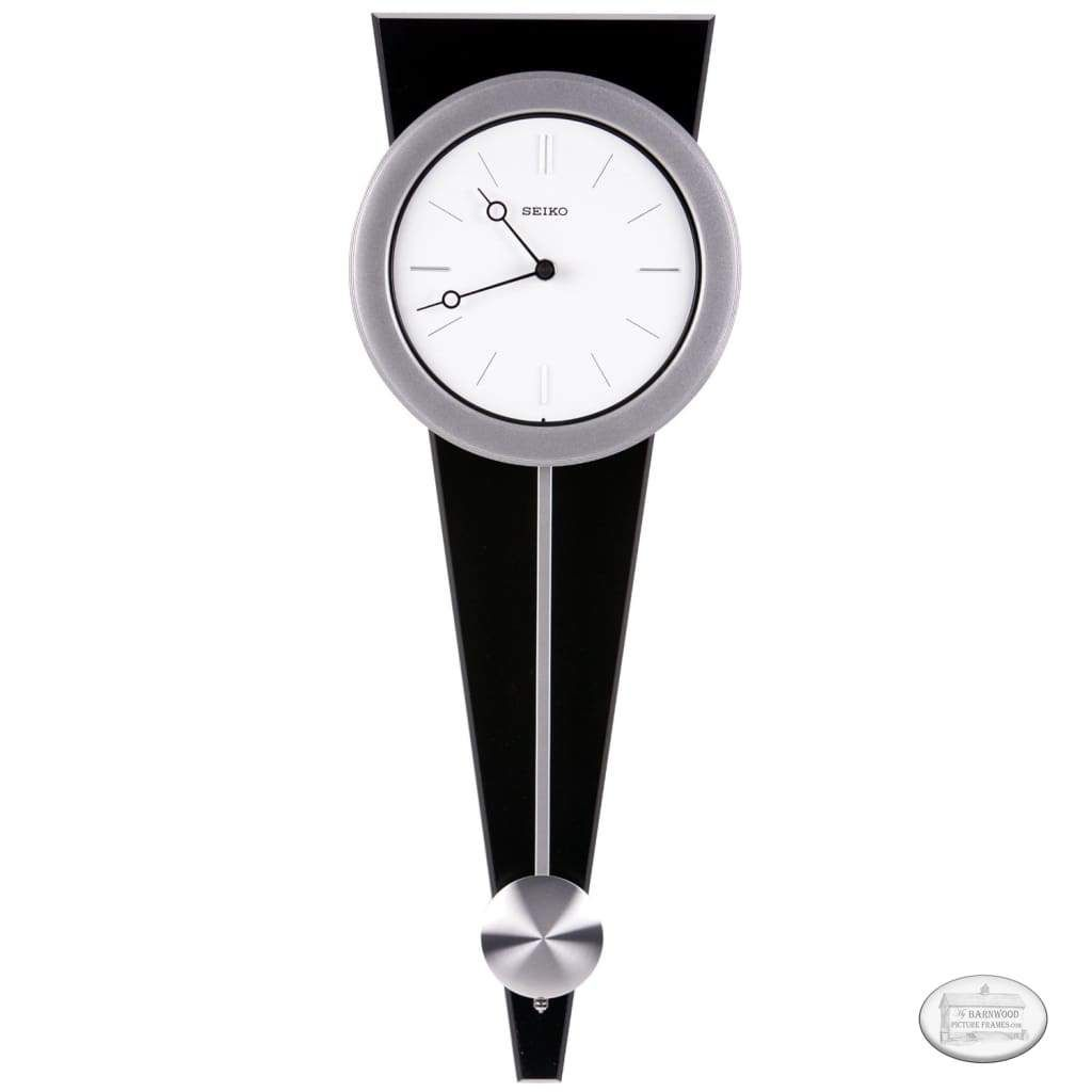 Contemporary Wall Clock With Functional Pendulum Design Pendulum Wall Clock Contemporary Wall Clock Wall Clock