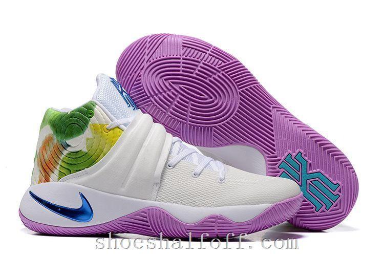 Big Discount  66 OFF Nike Kyrie 2 Easter WhiteHyper JadeUrban LilacBright Mango