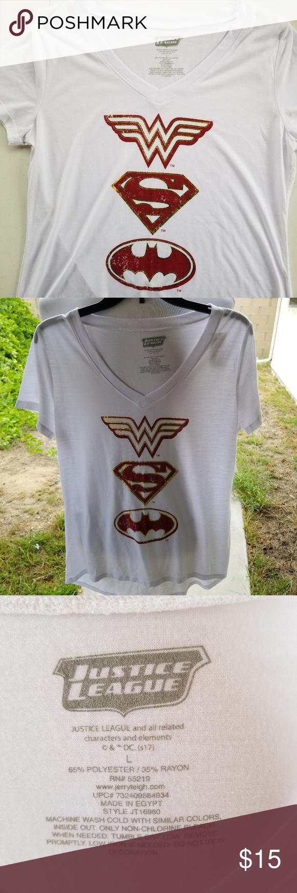 Justice League DC Comics Mens T-Shirts Various Styles /& Colours