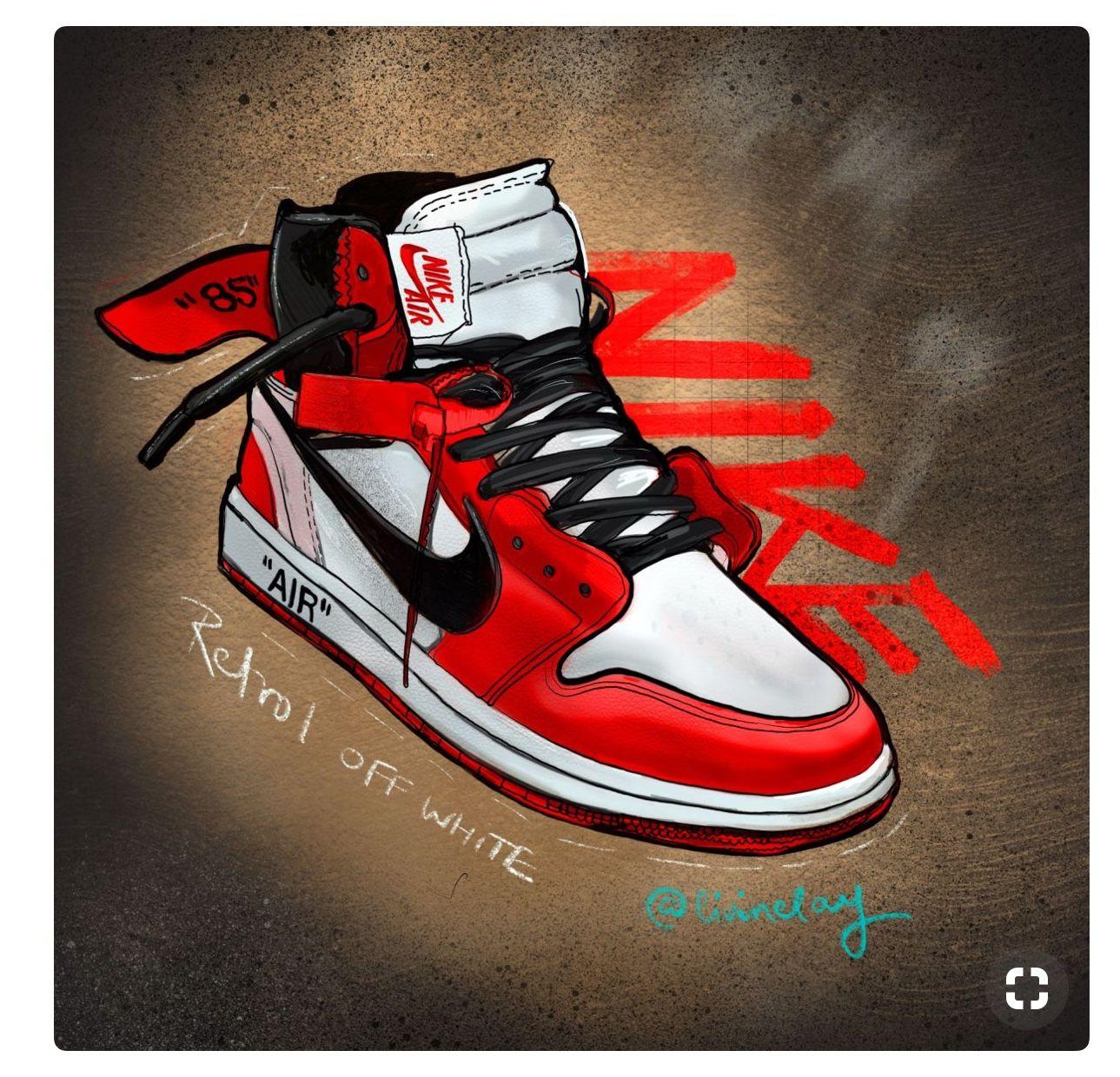 Pin By Maya Cameron On Artsy Sneakers Wallpaper Nike Art