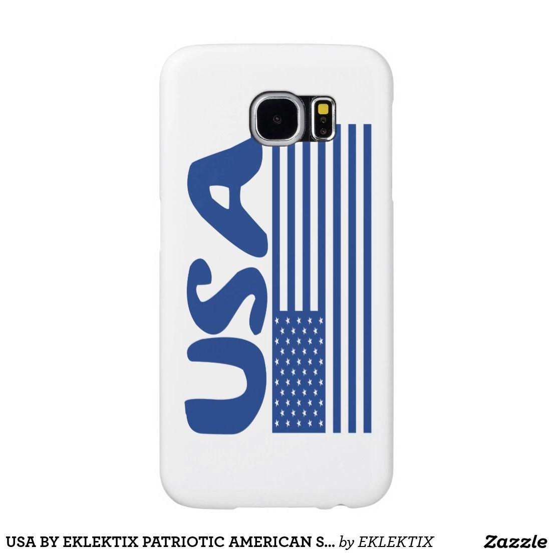 USA BY EKLEKTIX PATRIOTIC AMERICAN STUFF SAMSUNG GALAXY S6 CASES