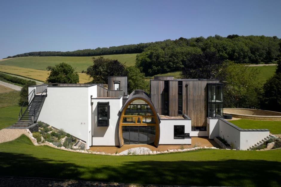 Image Result For The World S Most Incredible Self Built Homes Self Build Houses Bungalow Design House
