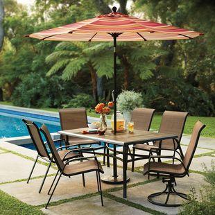 Kohl's 7pc Patio Dining Set $336   Patio, Square patio ...