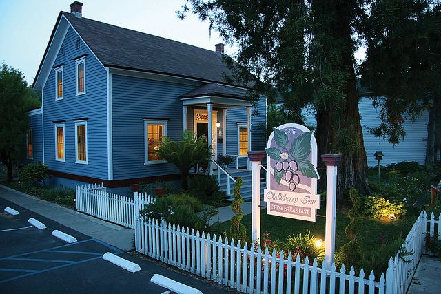 Olallieberry Inn A Cambria Ca Bed And Breakfast B And B