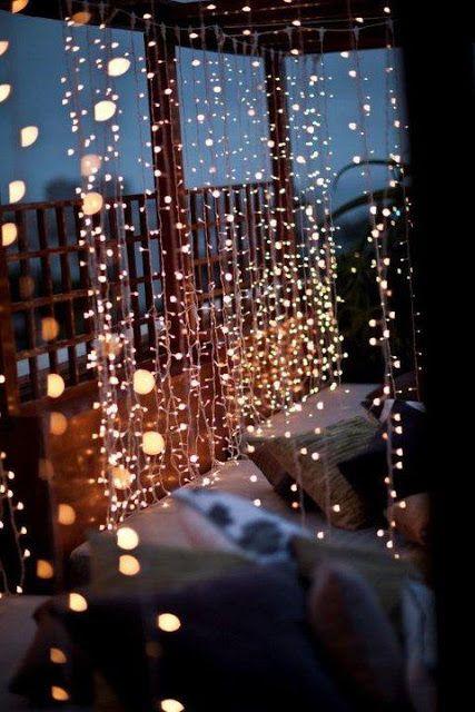 Night Lights Fairy Deck Lighting Light Decorations