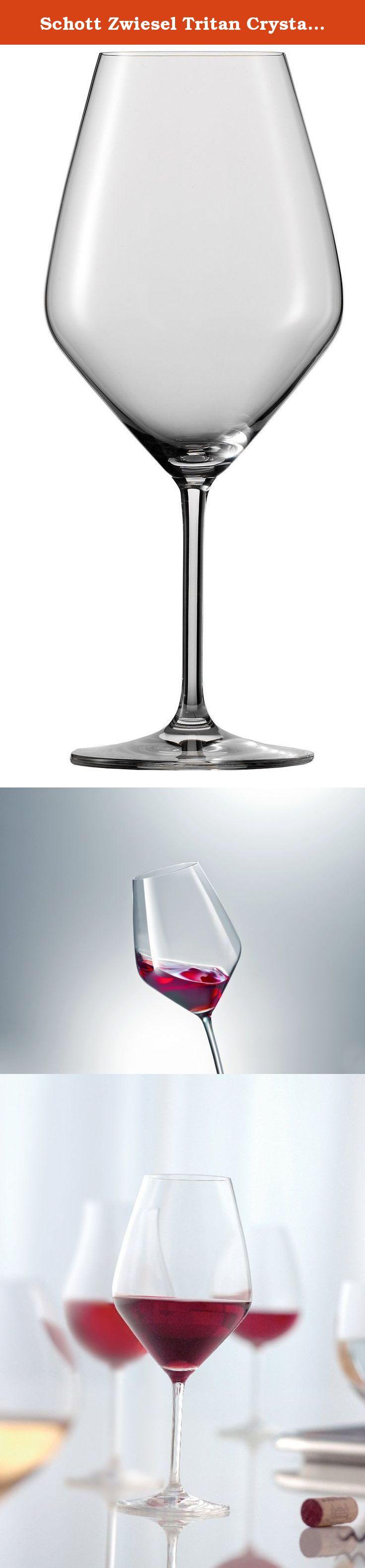 Schott Zwiesel Tritan Crystal Glass Stemware Full Bodied
