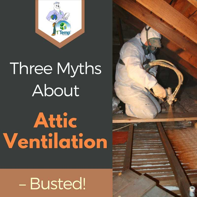 Three Myths About Attic Ventilation Busted Home Insulation Attic Insulation