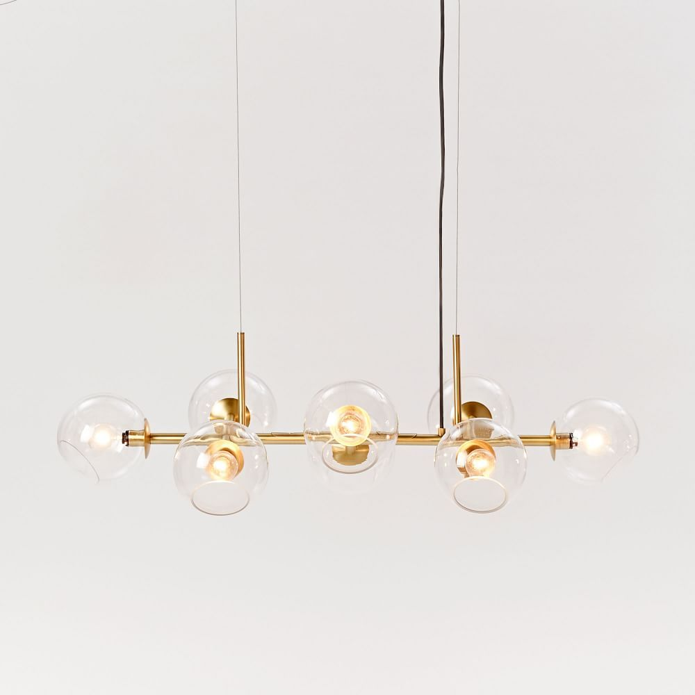 Staggered glass chandelier 8 light lighting pinterest staggered glass chandelier 8 light arubaitofo Choice Image