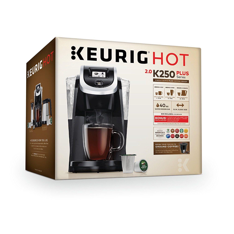 Keurig 119272 K250 Coffee Maker, Black (New