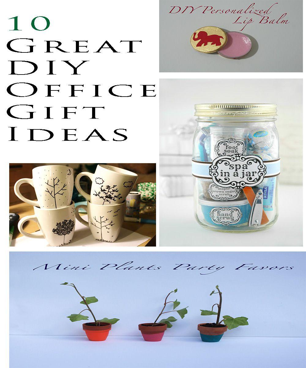 10 great diy office gift ideas