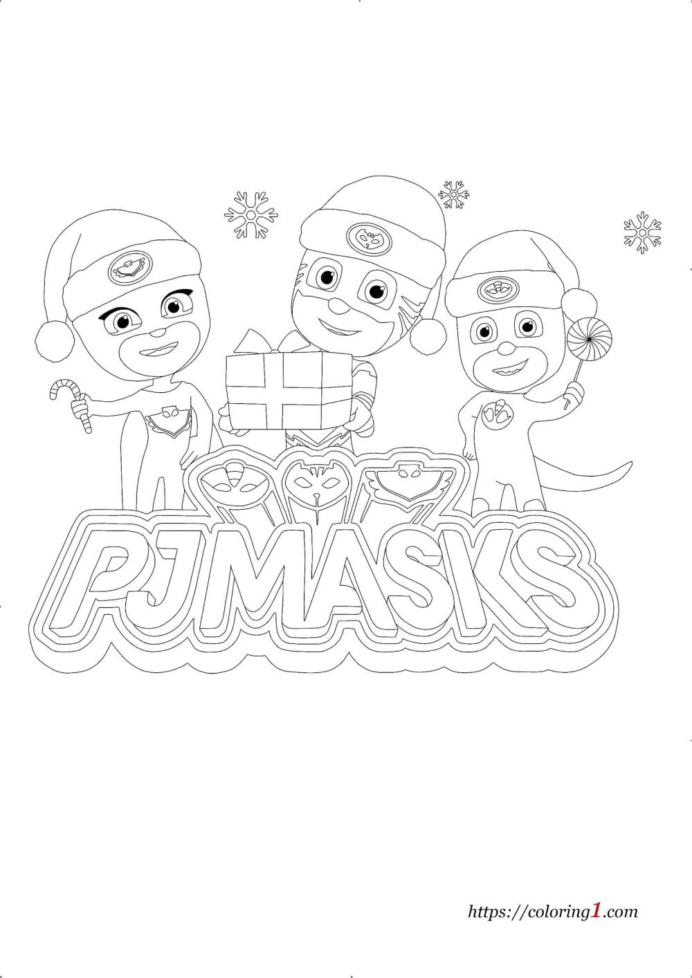 b1e79b2fd039045dfa022c344d09fa70 » Christmas Color Pages Easy To Draw Pj Masks