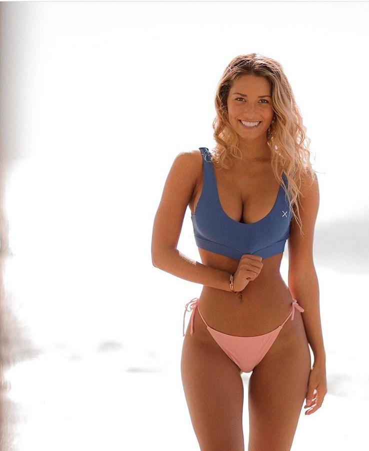 43b7fbf9935d9 Laguna Blue Yogi Top in 2019 | Boutine LA Bikini Tops | Bikinis ...