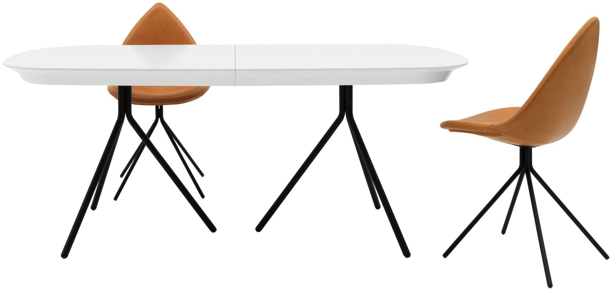 Ottawa Tisch Mit Zusatztischplatte Extendable Dining Table