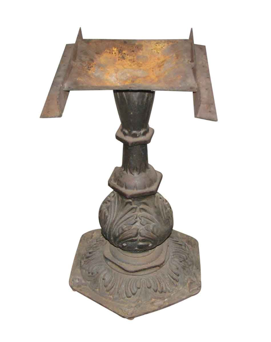 Ornate Cast Iron Pedestal Table Base