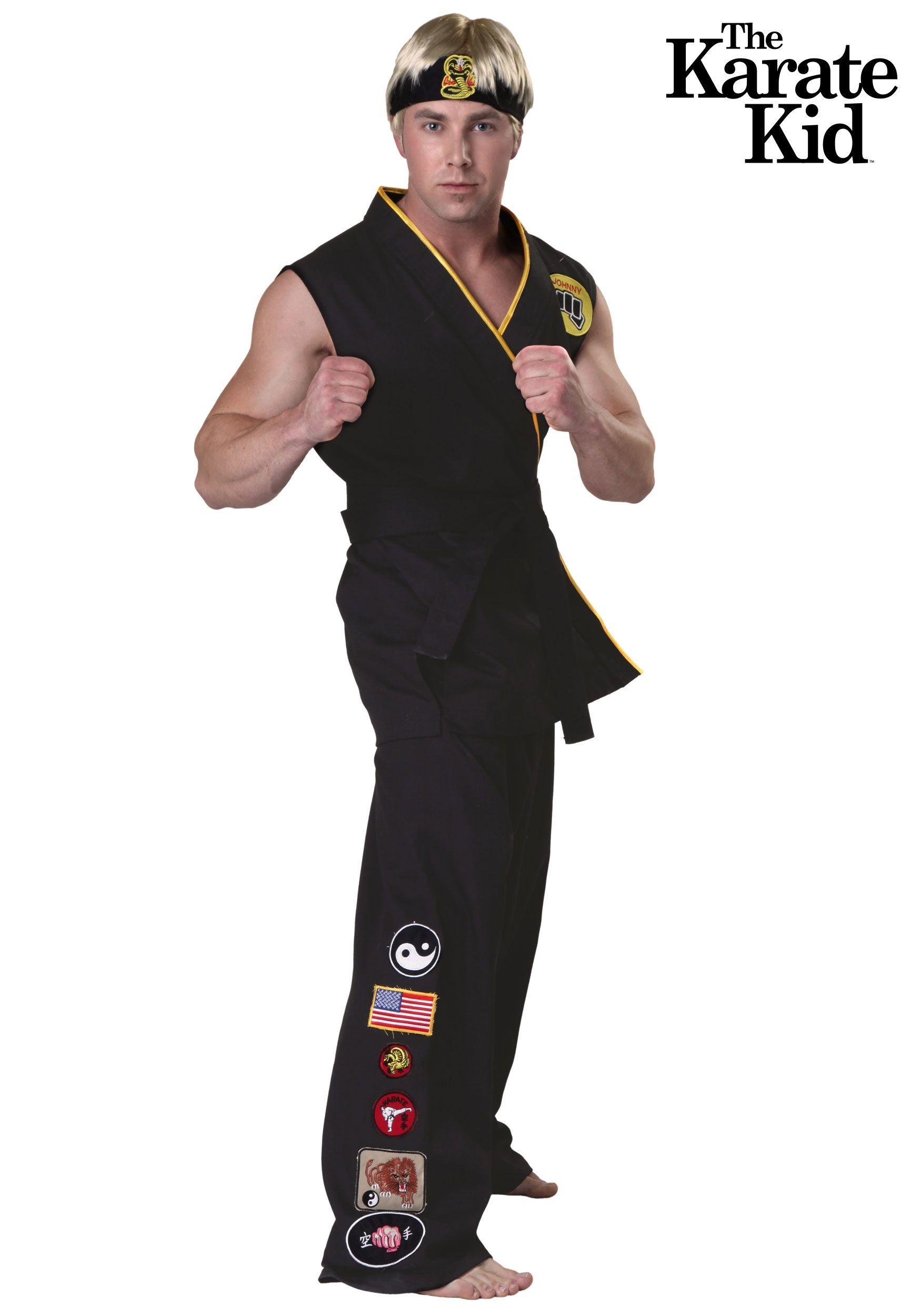 Authentic Karate Kid Cobra Kai Costume Karate kid