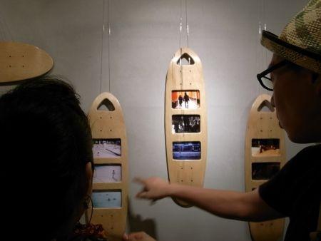skateboard photo frames shama tokyo | cool | Pinterest | Skateboard ...