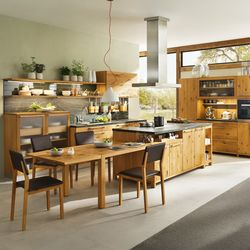 Fitted kitchens-Island kitchens-Kitchen systems-loft kitchen-TEAM 7