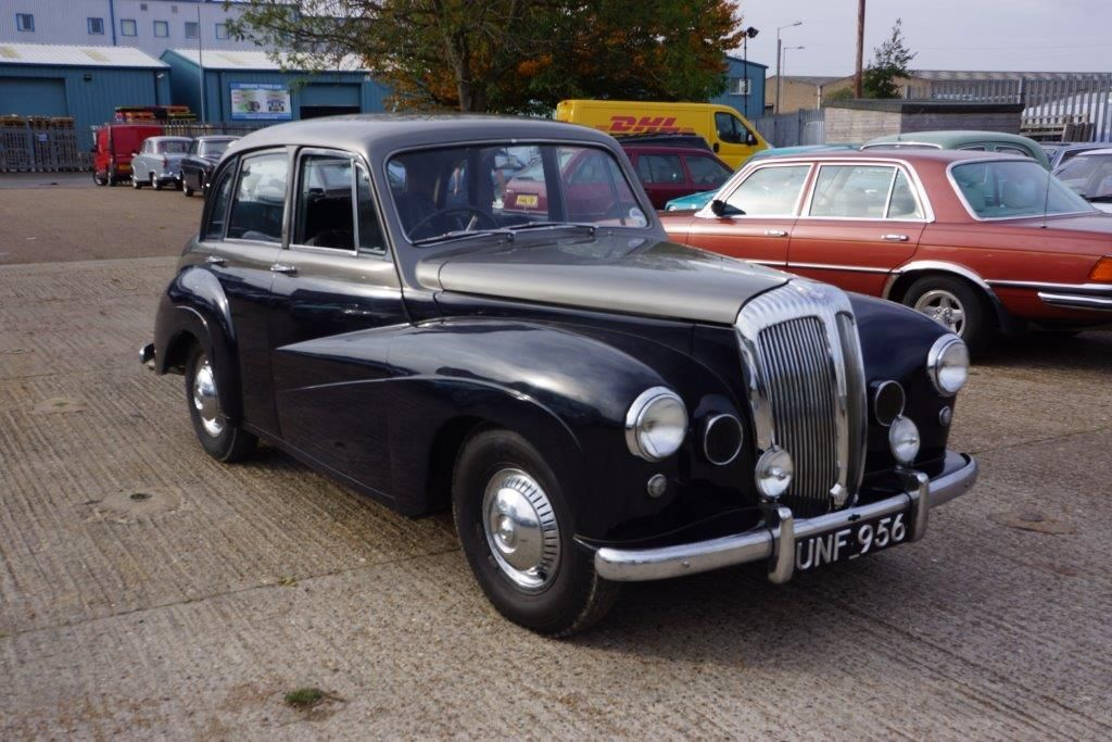 1957 Daimler Conquest Century Anglia Car Auctions Classic Cars
