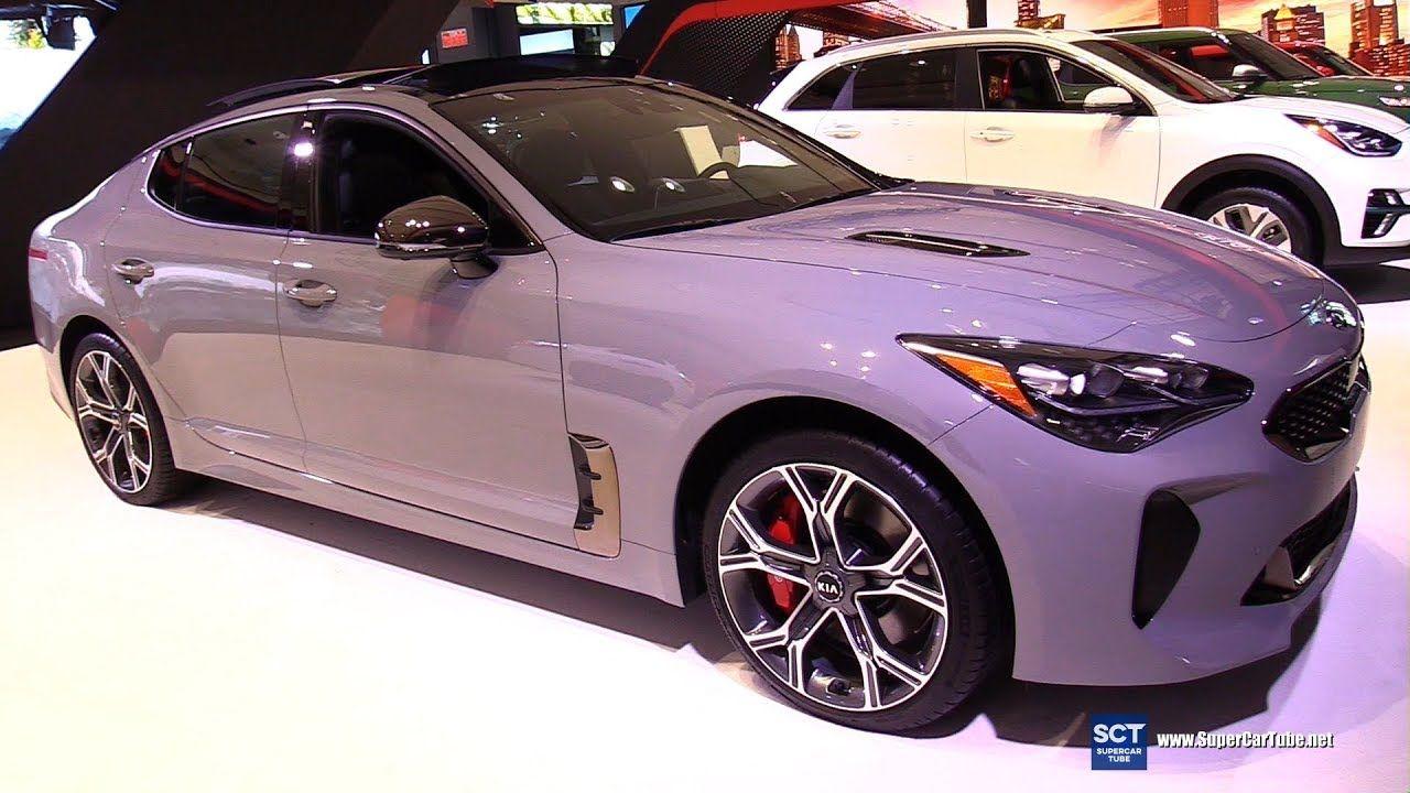 2019 Kia Stinger Gt Exterior And Interior Walkaround 2019 New York A Kia Stinger Kia Best New Cars